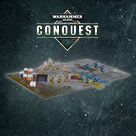 Warhammer 40,000 Conquest covers