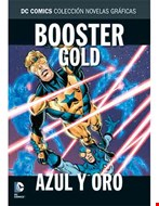 Booster Gold. Azul y oro